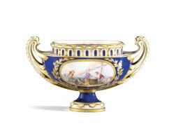 7. a sèvres soft-paste porcelain pot-pourri, 18th century, circa 1770 |