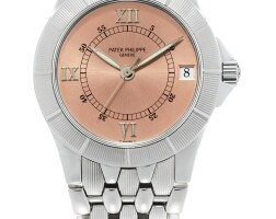 48. patek philippe | neptune, reference5080/1 a stainless steel bracelet watch with date, made in1996