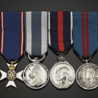 75. great britain, a jubilee & coronation trio of silver medals  