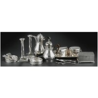 8. european silver tablewear