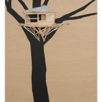224. tadashi kawamata   tree hut in tuileries