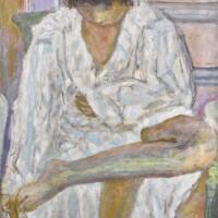 16. 皮耶・博納爾 | 《梳洗的女人(浴衣)》