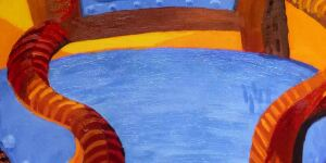 David Hockney | The Chair