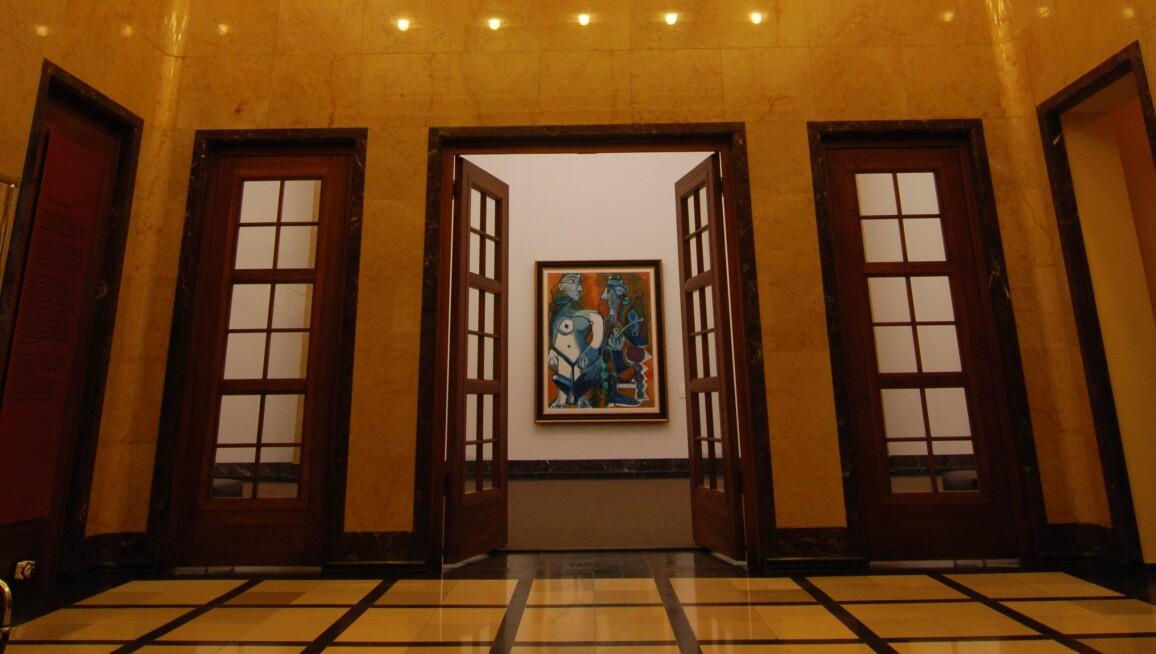 Interior View, Museum Rosengart Collection