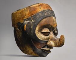 119. yaka mask, democratic republic of the congo