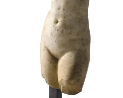 3012. a hellenistic marble torso of aphrodite c. 1st century bc