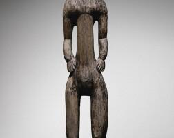 18. statue, kanak, nouvelle-calédonie  