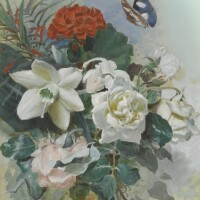 7. horace van ruith | untitled(flowers painted in bombay)