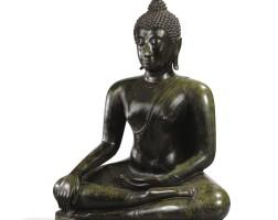 23. 十四世紀 泰國素可泰王國銅佛坐像