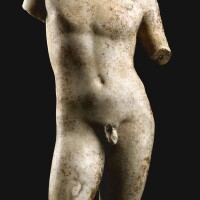3038. a roman marble torso of eros circa ad 2nd century  