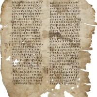 3. gospel of mark, in coptic