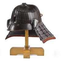 5. a sujibachi kabuto[helmet] edo period, 17th century |
