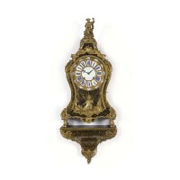 37. a french regence ormolu mounted boulle inlaid bracket clock, léuesque, circa 1720