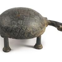 38. baule bronze turtle, ivory coast