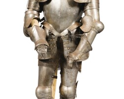 21. a wrought iron child armour in the 16th century style, late 19th century |