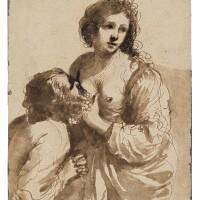 103. giovanni francesco barbieri, called guercino | roman charity: cimon and pero