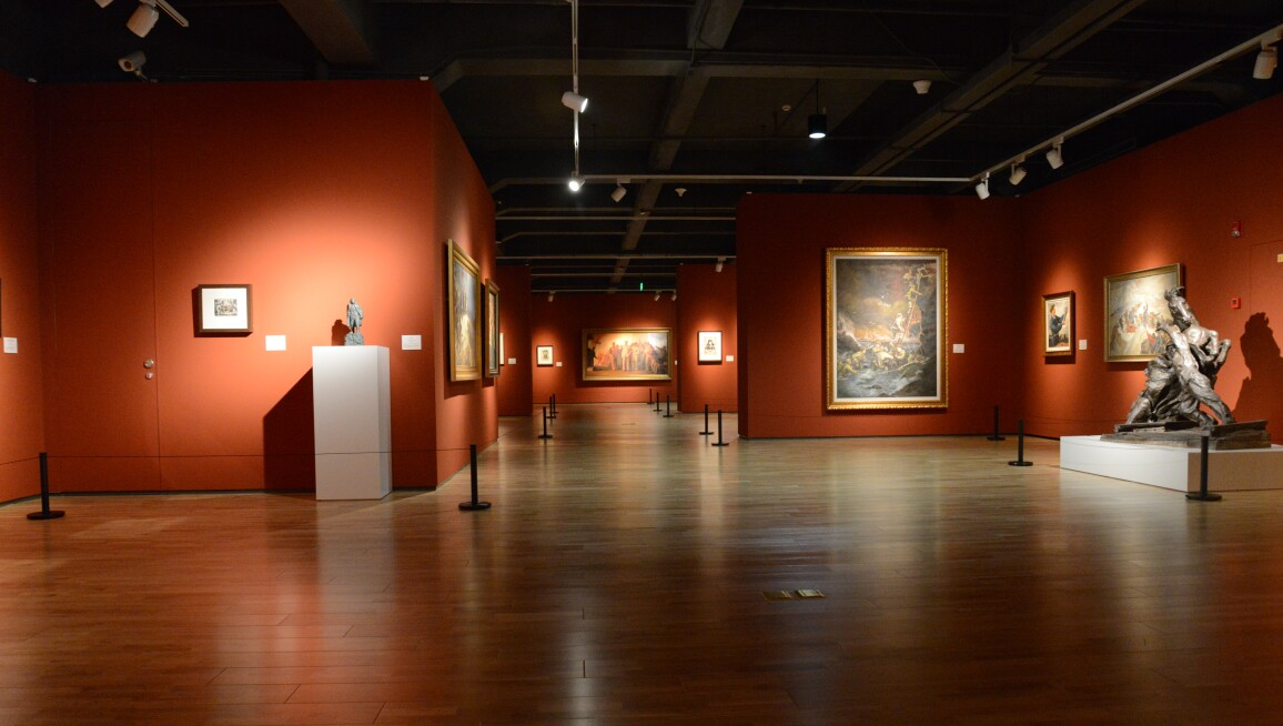 Interior View, Long Museum Chongqing