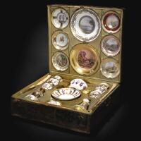 26. a naples (real fabbrica ferdinandea) porcelain presentation service, circa 1790-1800