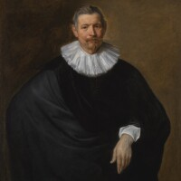 53. sir anthony van dyck | portrait of hubert du hot (b. circa 1573)