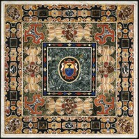 4. an italian antique marble and pietre dure table top, granducal workshops, florence, late 16thcentury