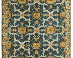 21. an exceptionally fine kashmir durbar carpet, north india
