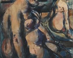 28. 喬治・魯奧 | 《〈兩名妓女〉與〈女孩〉(雙面作品)》