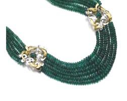 299. 祖母綠配黃金項鏈
