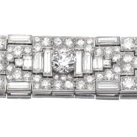 481. diamond bracelet, french, circa 1930