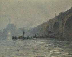 26. rose barton, r.w.s.   waterloo bridge, london