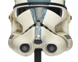 17. star wars revenge of the sith 501st legion trooper helmet, master replicas, 2005