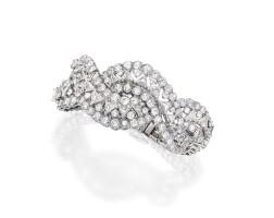 10. platinum and diamond bracelet
