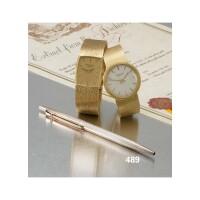489. a ballpoint pen, caran d'ache, retailed by patek philipee & co. 1970/80s