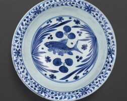 3005. a rare and superb blue and white bowl yuan dynasty |