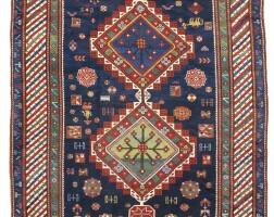 110. a kazak long rug, southwest caucasus