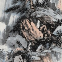521. 張大千 1899-1983   結廬幽賞