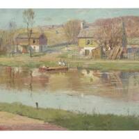 2. american school | river scene
