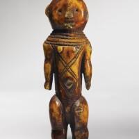 201. lega ivory female figure, rounded style, democratic republic of the congo