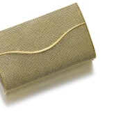 291. lady's gold evening bag, 1960s