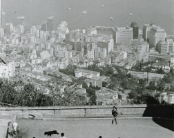 10. 邱良 | 山頂球賽(舊山頂道,1968)