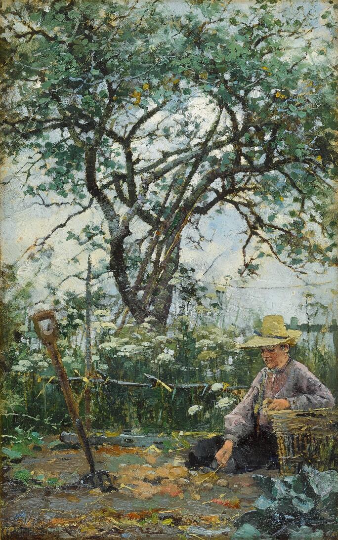 Walter Frederick Osborne, Study from Nature.  Estimate £60,000-80,000.