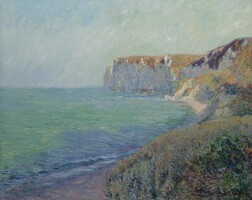 106. gustave loiseau   falaises de saint-jouin
