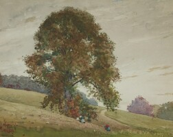 83. winslow homer | the chestnut tree