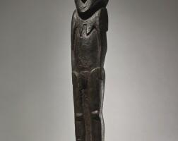 29. female statue, lake sentani, papua, indonesia