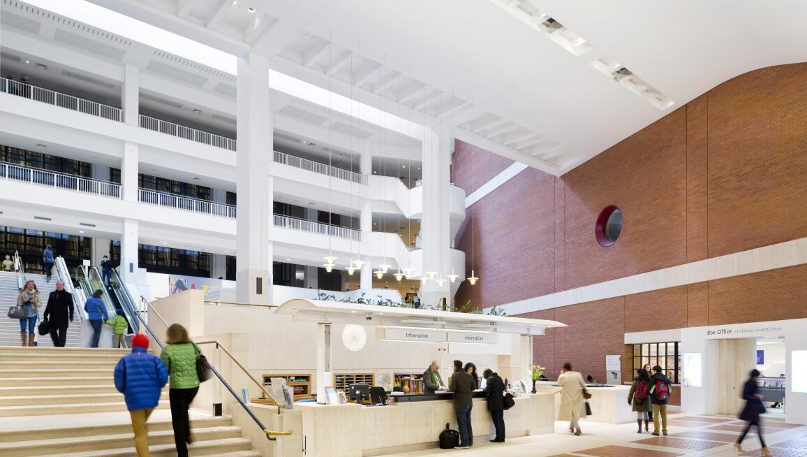 Interior View, British Library
