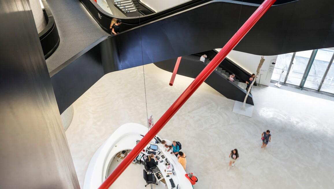 Interior View, Maxxi-Museo Nazionale delle Arti del XXI Secolo