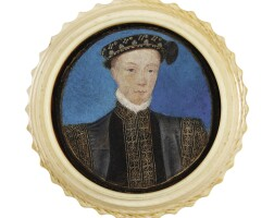 1. attributed to levina teerlinc | portrait of edward vi, king of england (1537-1553), circa 1550