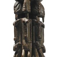 2. dogon six-figure caryatid altar, mali