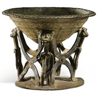 11. ceremonial cup, cross river area, nigeria  