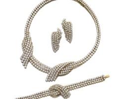 18. diamond parure
