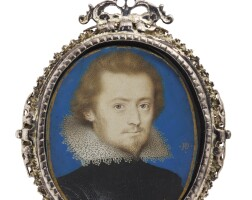 3. peter oliver   portrait of a gentleman, circa 1615